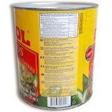 Papričky Jalapeňo zelené krájané 2,9 kg