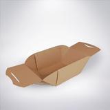 Box na jedlo EKO hnedý 100ks