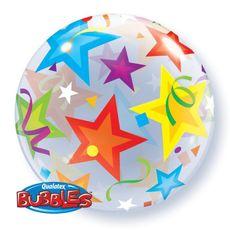 Balón Bublina Hviezdy 56 cm