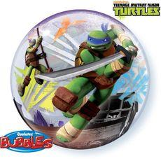 Balón Bublina Ninja korytnačky 56 cm