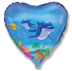 Balón delfín 45 cm