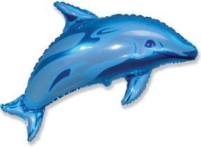 Balón Delfín modrý 94 cm