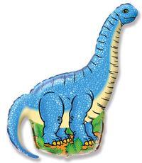 Balón Diplodocus modrý 108 cm