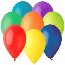 Balón guľa 26 cm bez potlače 100 ks
