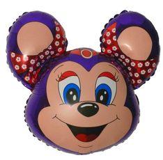 Balón Minnie myš fialová 77 cm
