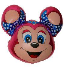 Balón Minnie myš ružová 77 cm
