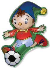 Balón Noody futbalová lopta 100 cm
