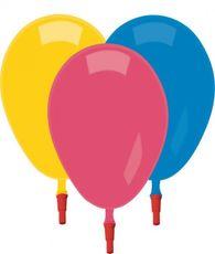 Balón s píšťalkou 100 ks