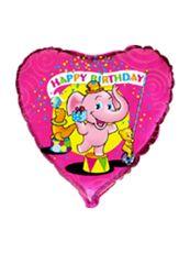 Balón Slon Happy Birthday 20 cm