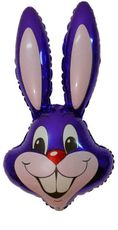 Balón zajac fialový 87,5 cm
