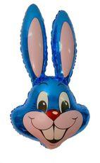 Balón zajac modrý 87,5 cm