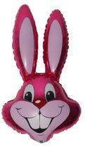 Balón zajac ružový 87,5 cm