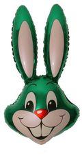 Balón zajac zelený 87,5 cm