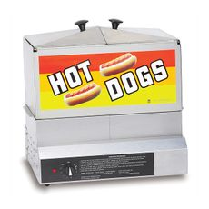 HOT DOG STEAMIN DEMON