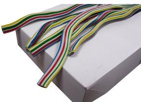 Kábel pelendrek Multi Color 65 cm