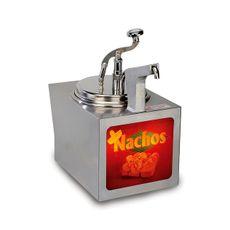 Ohrievač syrovej omáčky s pumpou