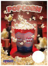 Plagát cenník Popcorn Krabička A4