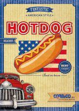 Plagát Hot Dog Americký A2