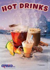 Plagát Hot Drinks A2