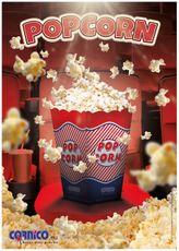 Plagát Popcorn Krabička A2