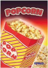 Plagát Popcorn Vrecko A2