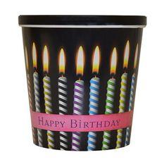 Pohár 3,8 L s viečkom Happy Birthday
