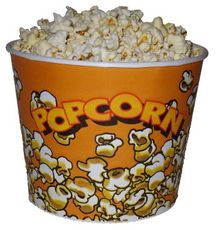 Pohár 5 L Popcorn XXL