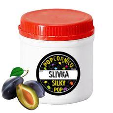 Príchuť Silky Pop Slivka 500g
