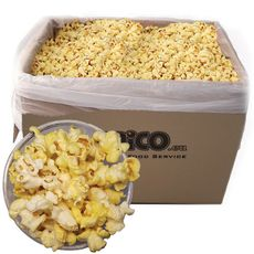 Pukance Popcorn slané 3 kg Butterfly