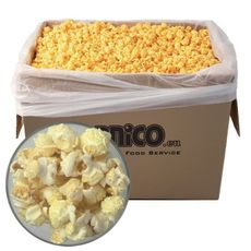 Pukance Popcorn slané 3 kg Mushroom