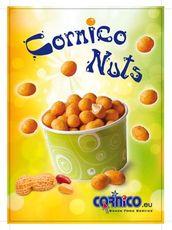 Reklamná karta CORNICO NUTS na stôl
