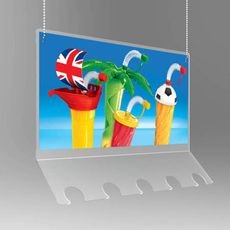 Reklamný vešiak na poháre ONE SLUSH