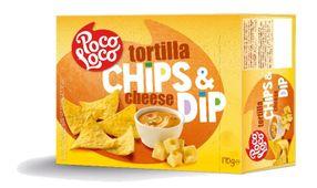 Snack Box Tortilla lupienky Natural & Cheese Dip 170 g