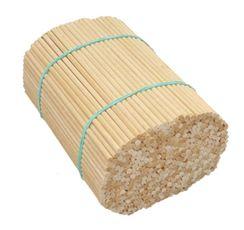 Špajľa oblá 15 cm × 4 mm bez hrotu drevená 500 ks