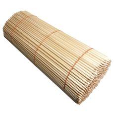 Špajľa oblá 45 cm × 6 mm s hrotom drevená 500 ks