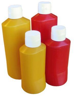 Fľaša plastová 0,6 L s uzáverom