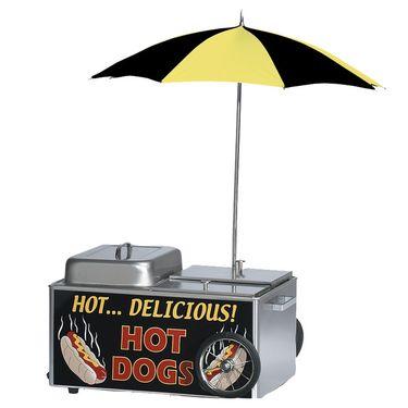 HOT DOG STEAMER CART