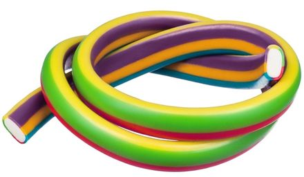 Kábel pelendrek Dúha 65 cm 50 ks