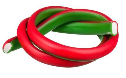 Kábel pelendrek Melón & Jahoda 65 cm 40 ks