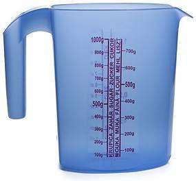 Odmerka plastová oválna 0,5 L