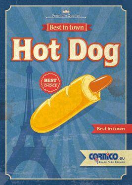 Plagát Hot Dog Francúzsky A2
