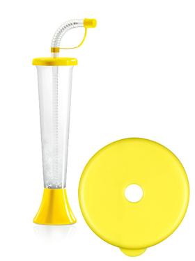 """Pohár 250 ml """"F"""" Plain žltý 108 ks"""