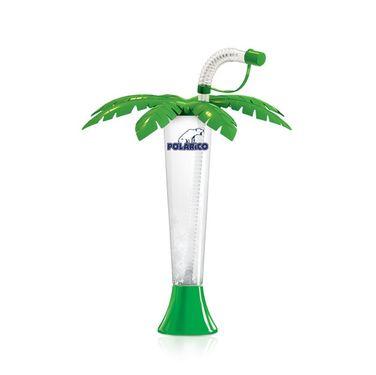 """Pohár 250 ml """"F"""" POLARiCO Palma zelená 108 ks"""