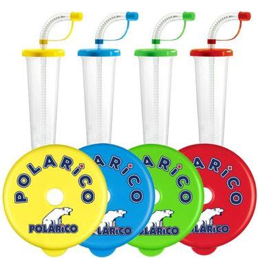 "Pohár 250 ml ""F"" POLARiCO Plain mix 108 ks"