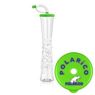 Pohár 500 ml Plain POLARiCO limetkovo zelený 54 ks