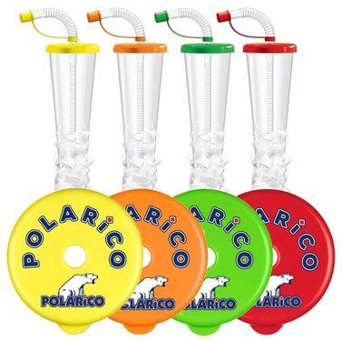 Pohár 500 ml Plain POLARiCO Mix 54 ks