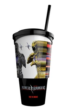 Pohár 500 ml s hračkou Power Rangers