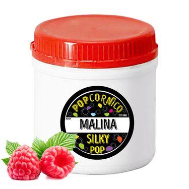 Príchuť Silky Pop Malina 500g