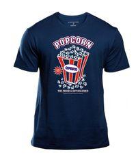 Tričko modré Popcorn Box